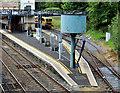 J2664 : Water column, Lisburn station by Albert Bridge