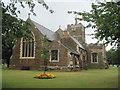 TL1749 : St Swithun's Church Sandy by John Firth