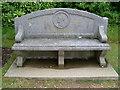 SZ5194 : The John Brown Memorial Seat at Osborne House by David Hillas