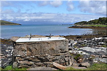 NM4099 : Isle of Rum - Sinks with a View by Ashley Dace