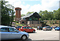 SJ6903 : Blists Hill car park and way in by roger geach