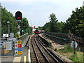 TQ2491 : Leaving Mill Hill East by Malc McDonald