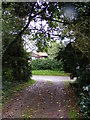 TM4466 : Footpath to Church Road by Geographer
