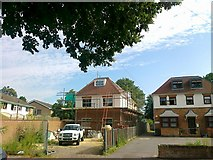 TQ0464 : New house, Simplemarsh Road, Addlestone by Alex McGregor