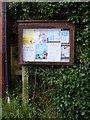 TM4566 : Eastbridge Village Notice Board by Adrian Cable