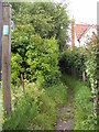 TM4566 : Footpath to Baker's Hill & Potter's Street by Adrian Cable