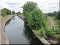 TQ1479 : Grand Union Canal and Railway by Oast House Archive