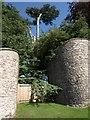 ST0518 : Entrance to Holcombe Court by Derek Harper