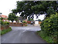TM4365 : Church Road, Theberton by Adrian Cable