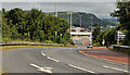 J3477 : Slip road, Fortwilliam roundabout, Belfast (1) by Albert Bridge