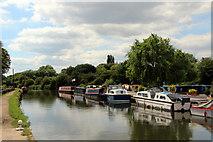 TL3706 : River Lee Navigation, Hoddesdon, Hertfordshire by Christine Matthews