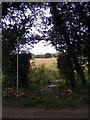TM4363 : Footpath to Hill Farm by Adrian Cable