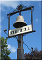 SO9477 : The Bell at Belbroughton (2) - sign, Bromsgrove Road, Bell End by P L Chadwick