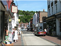 TQ4210 : Cliffe high street in the sunshine by Rob Purvis