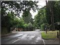SO9973 : Fiery Hill Road At The Lickey & Blackwell Parish Boundary by Roy Hughes