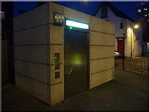 TQ1885 : Wembley: talking toilet in Elm Road Car Park by Chris Downer