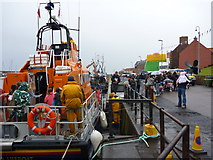 NT6779 : Dunbar Lifeboat Day 2011 : Looking Around The Dunbar Lifeboat by Richard West
