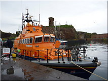 NT6779 : Dunbar Lifeboat Day 2011 : The Dunbar Lifeboat at Victoria Harbour, Dunbar by Richard West