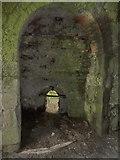NU1341 : Lindisfarne Castle, Holy Island. Limekiln interior by Alexander P Kapp