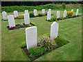SN0402 : 1939-45 war graves at Carew Cheriton by Jeremy Bolwell