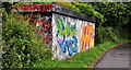 J3470 : Graffiti, Lagan towpath, Belfast (July 2011) by Albert Bridge
