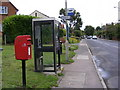 TM4362 : B1119 Waterloo Avenue & Waterloo Avenue Postbox by Adrian Cable