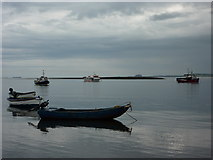 NU1341 : View over to Long Ridge from the jetty, Holy Island by Alexander P Kapp