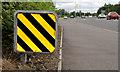 J3876 : Reflective crash barrier, Belfast by Albert Bridge