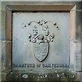 NS2777 : Coat of arms of Crawfurd of Cartsburn by Lairich Rig