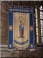 SU2902 : Banner, St Saviour's Church by Maigheach-gheal