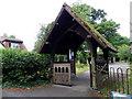 SZ2798 : Lych gate, St Lukes Church by Maigheach-gheal