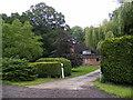 TM4264 : Harrow Farmhouse by Adrian Cable