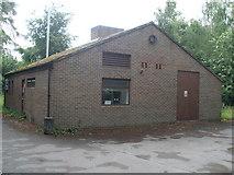 SU4773 : Chieveley Telephone Exchange by David Hillas