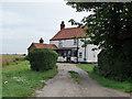 TF4683 : House off Field Lane by J.Hannan-Briggs