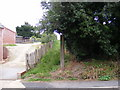 TM4160 : Footpaths to Church Farm & 1069 Snape Road by Adrian Cable