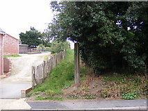 TM4160 : Footpaths to Church Farm & 1069 Snape Road by Geographer