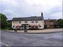 TM4160 : Old Chequers Public House, Friston by Geographer