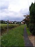 TM4160 : Church Path footpath to Church Road by Geographer