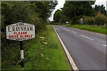 TF8825 : Entering East Raynham by Tiger