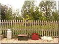 TQ8632 : Platform items, Rolvenden Railway Station by nick macneill