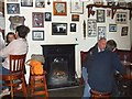 G7390 : Interior, Corner Bar, Ardara (1) by Kenneth  Allen