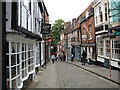 SK9771 : Steep Hill by Josie Campbell