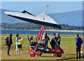 NM9035 : Micro-lite at  Oban Airport. by The Carlisle Kid