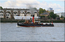 TQ3778 : The River Thames from the Isle of Dogs by Chris Allen