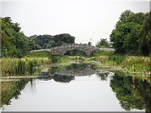 N5331 : Rhode Bridge on the Grand Canal, near Rhode, Co. Offaly by JP