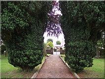 SD7656 : Churchyard, Tosside by Philip Platt