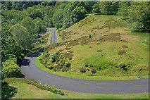 NN5207 : Access Road to Glen Finglas Reservoir by Mick Garratt
