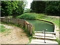 SP0632 : Mill pond, Stanway Mill by Christine Johnstone
