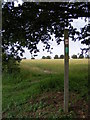 TM4059 : Footpath to the B1069 Church Road by Geographer