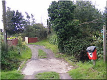 TM4159 : Footpath to the B1121 Aldeburgh Road by Adrian Cable